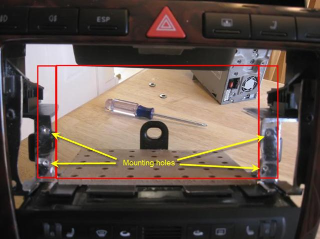 How To Install A Double Din Head Unit In A 2001 A8l